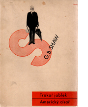 Image of Trakar Jablek, Americky cisar – G.B. Shaw cover