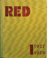 Image of RED – Karel Teige cover