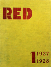 Image of RED by Karel Teige cover