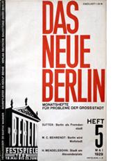 Image of Das neue Berlin 5 cover