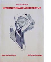 Image of Internationale Architektur cover